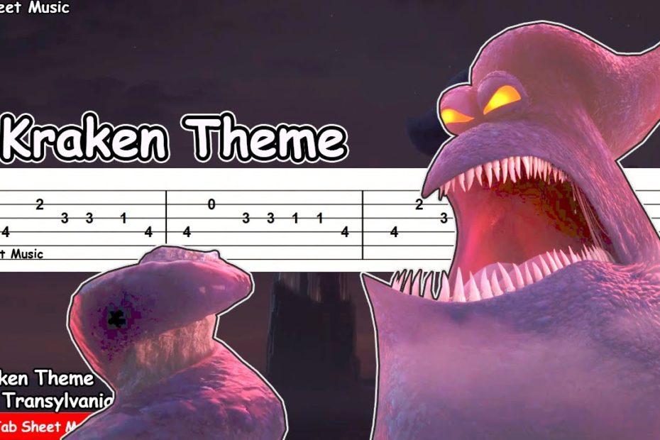 Hotel Transylvania 3 - Kraken Theme Guitar Tutorial