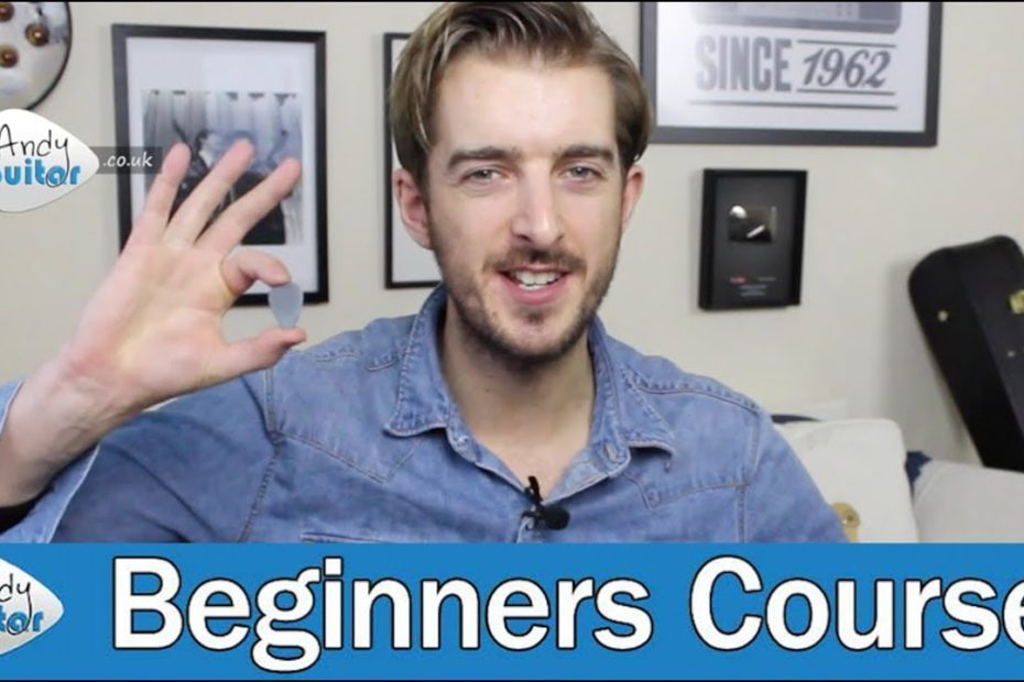 How To Hold A Guitar Pick & How to Choose One (Guitar Basics - Lesson 5)