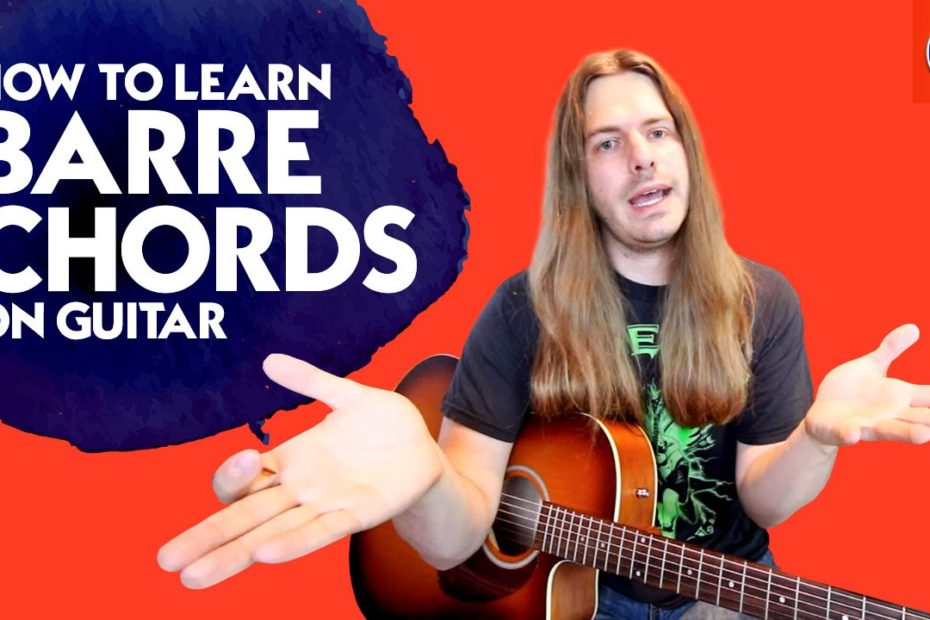 How to Learn Barre Chords On Guitar - How to Play 24 Barre Chords in Under 2 Minutes