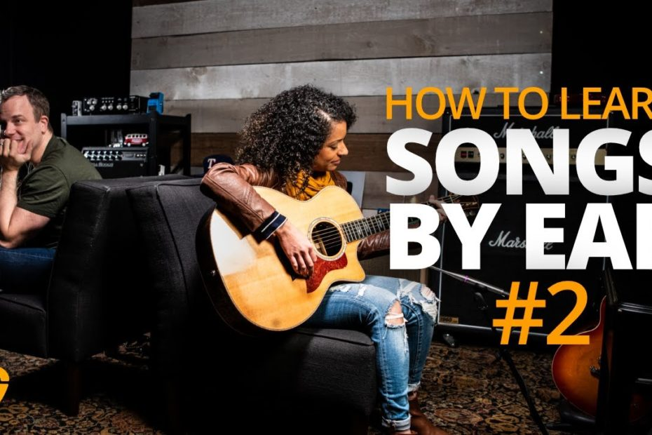 How To Learn Songs By Ear: Matching Pitch