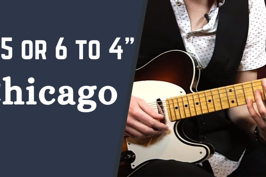"""How to Play """"25 or 6 to 4"""" by Chicago - The 1970s Guitar Song Collection w/ Jon Maclennan"""