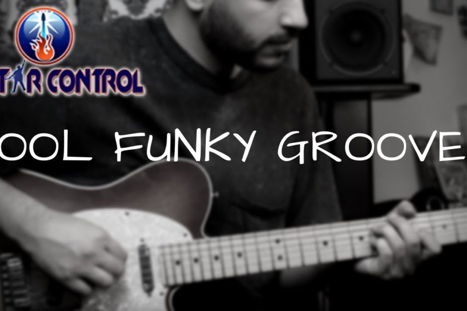How To Play a Cool Funky Groove On Guitar - Rhythm Guitar Lesson On Funk Grooves