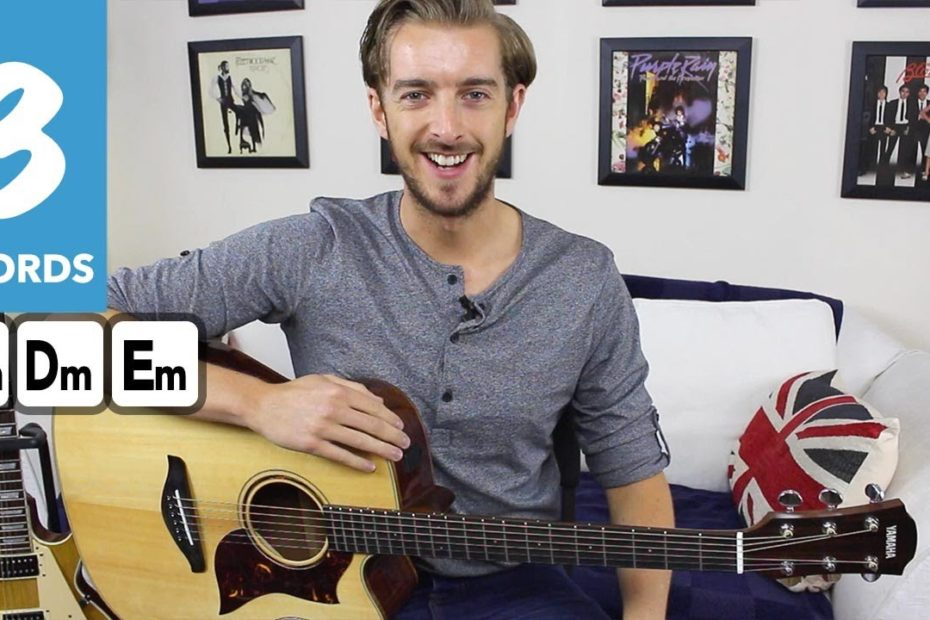 How to play AIN'T NO SUNSHINE - EASY Fingerstyle Guitar Tutorial - Bill Withers