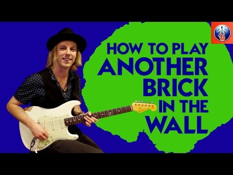 How to Play Another Brick in the Wall on Guitar - Pink Floyd Song Lesson