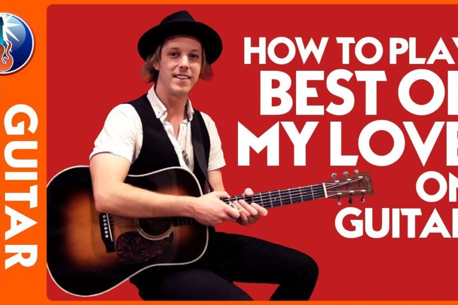 How to Play Best of My Love on Acoustic Guitar: Eagles Song Lesson | Guitar Control