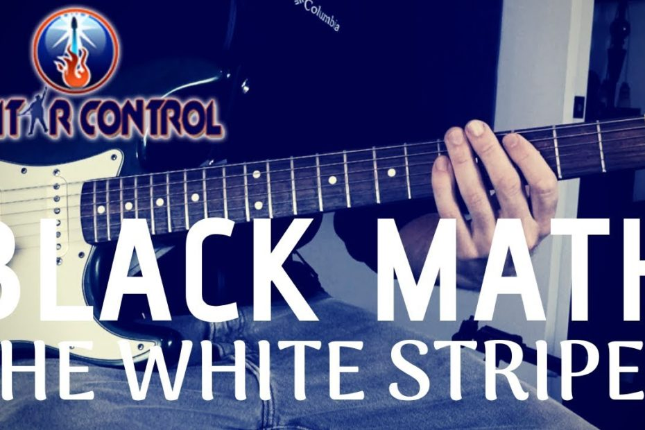 """How To Play """"Black Math"""" By The White Stripes - Easy Power Chord Guitar Lesson Riffs"""