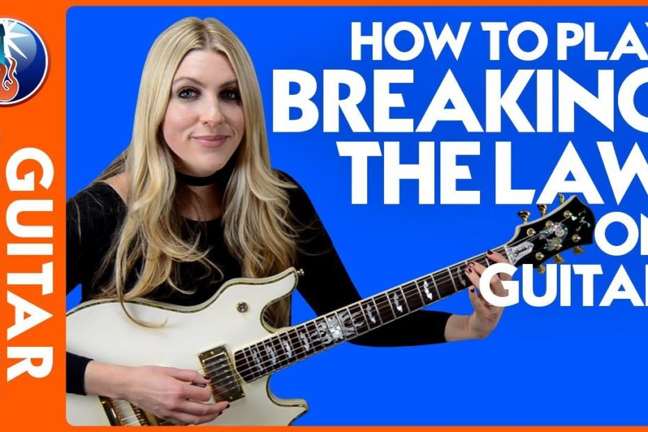 How to Play Breaking the Law on Guitar - Judas Priest Lesson