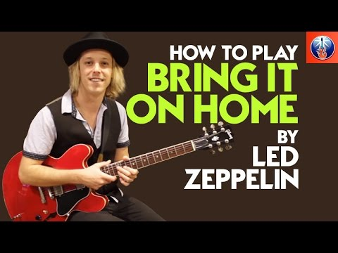 How to Play Bring It on Home by Led Zeppelin - Led Zeppelin Song Lesson
