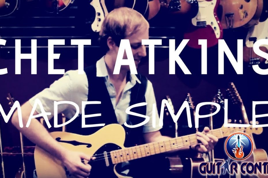 How to Play Chet Atkins Style For Beginners - Guitar Lesson on Alternate Bass
