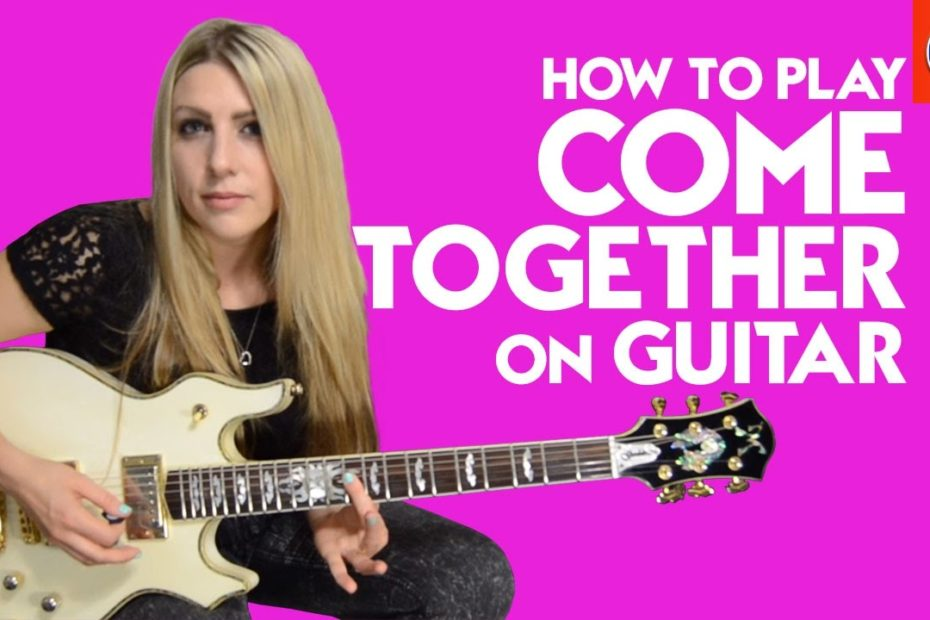 How to Play Come Together On Guitar - Beatles Come Together Guitar Lesson Intro and Solo Parts