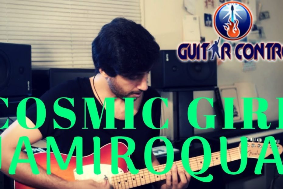 How To Play Cosmic Girl By Jamiroquai - Easy Funk Guitar Lesson