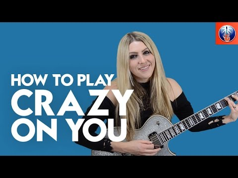 How to Play Crazy on You - Heart Guitar Intro Lesson