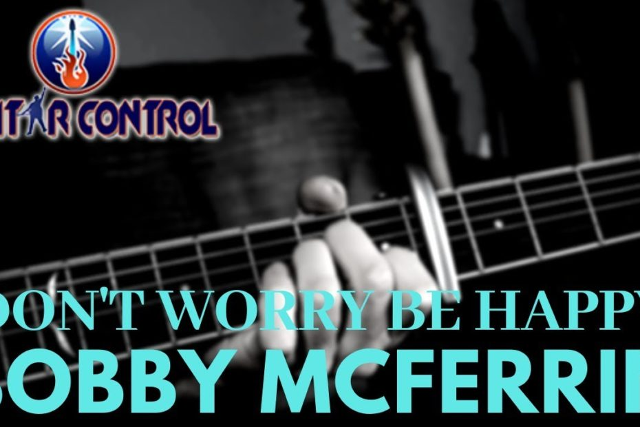 """How To Play """"Don't Worry Be Happy"""" By Bobby McFerrin - Easy Acoustic Guitar Lesson w/ Sean Daniel"""