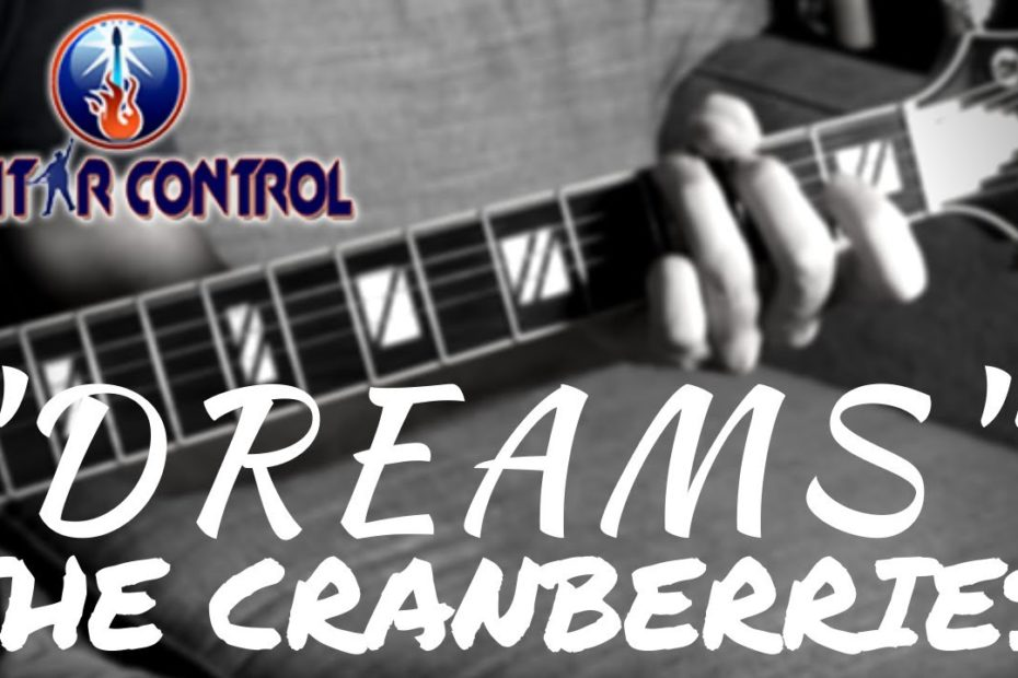 """How To Play """"Dreams"""" By The Cranberries - Easy Acoustic Song Guitar Lesson With Sean Daniel"""
