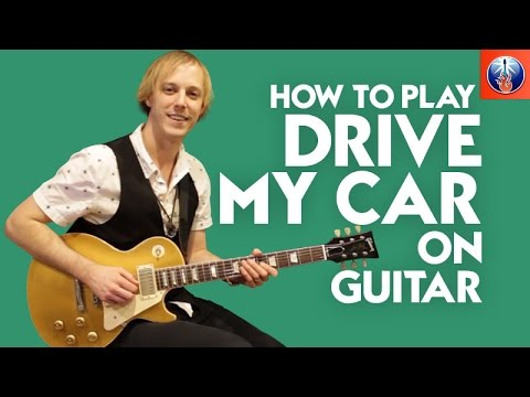 How to Play Drive My Car on Guitar - Beatles Guitar Lesson