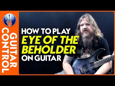 How to Play Eye of the Beholder on Guitar - Metallica Song Lesson
