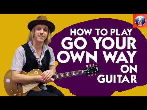 How to Play Go Your Own Way on Guitar - Fleetwood Mac Song Lesson