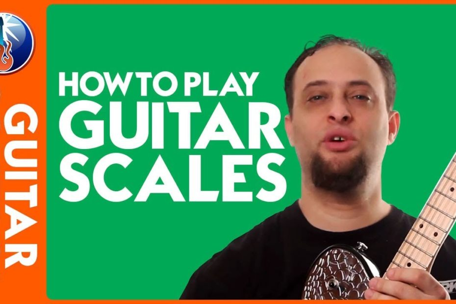 How to Play Guitar Scales - Pentatonic Box Patterns