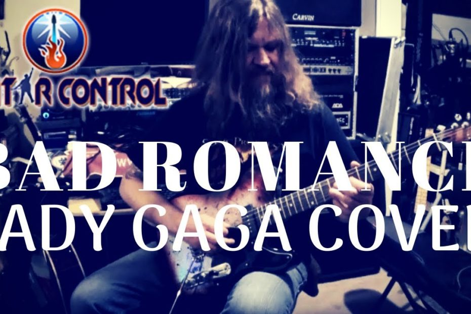 How To Play Halestorm's Bad Romance (Lady Gaga Cover Version) - Hard Rock Guitar Lesson