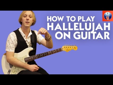 How to Play Hallelujah on Guitar - Leonard Cohen Chords and Melody Lesson