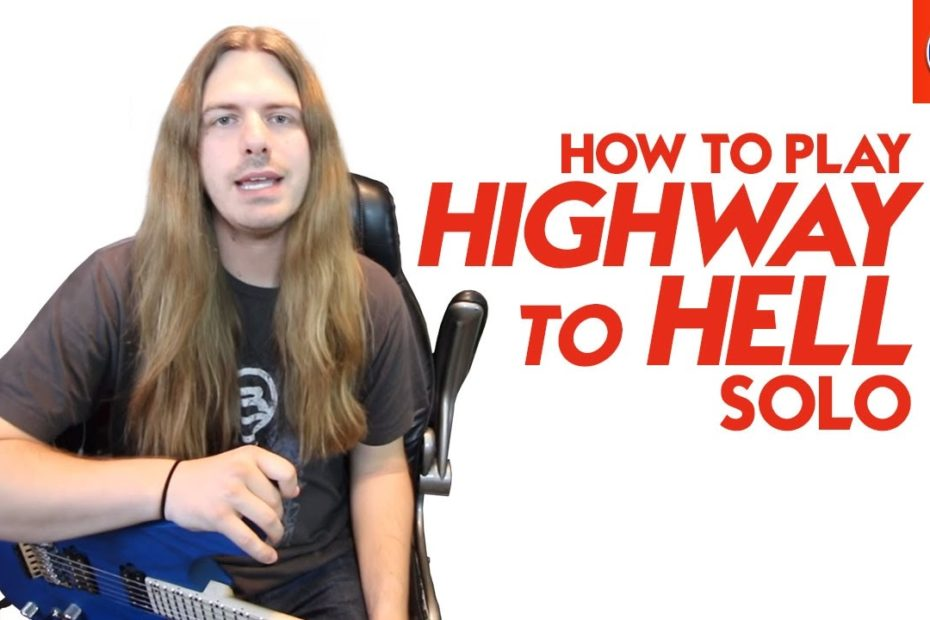 How to Play Highway to Hell Solo - Highway to Hell AC DC Lead Lesson