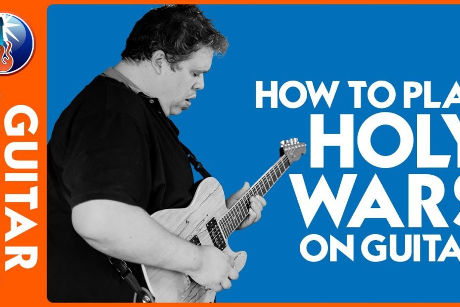 How to Play Holy Wars on Guitar - Megadeth RIff Lesson