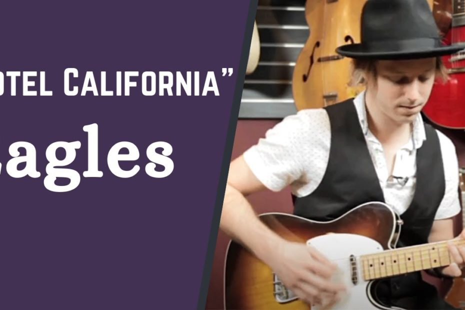 """How to Play """"Hotel California"""" by Eagles - The 1970s Guitar Song Collection w/ Jon Maclennan"""