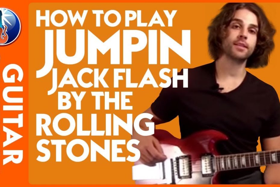How to Play Jumpin Jack Flash by The Rolling Stones