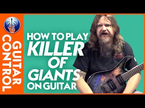 How to Play Killer of Giants on Guitar: Ozzy Osbourne Jake E Lee Lesson   Guitar Control