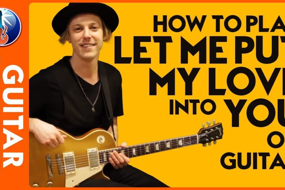 How to Play Let Me Put My Love into You on Guitar - AC DC Back in Black Lesson