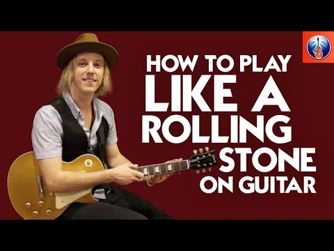 How to Play Like a Rolling Stone on Guitar - Cool Bob Dylan Song Lesson