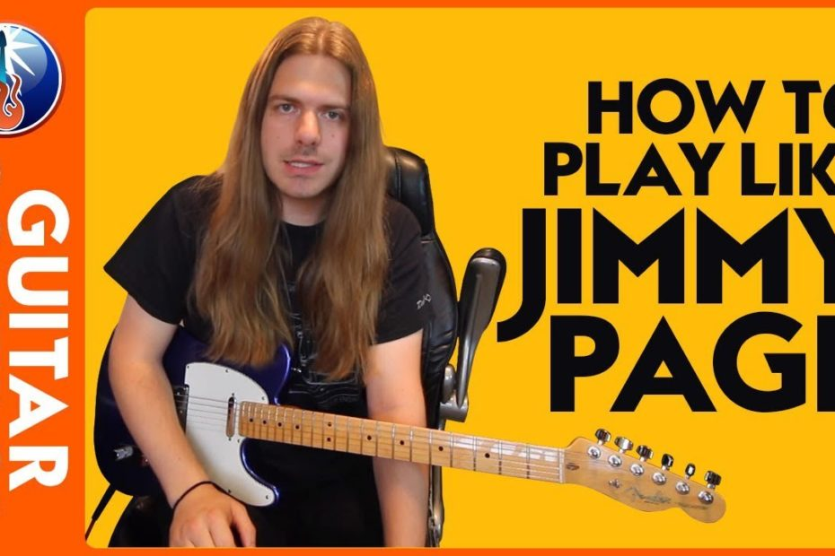 How to Play Like Jimmy Page - Learn 3 Jimmy Page Style Guitar Licks