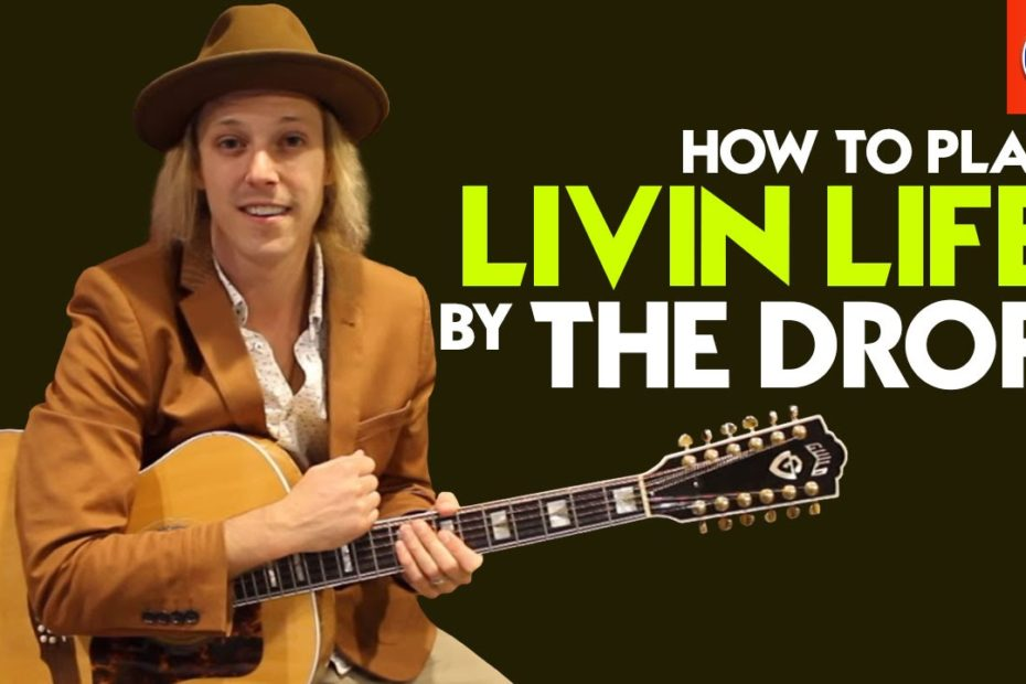 How to Play Livin Life by The Drop - Stevie Ray Vaughan Guitar Lesson