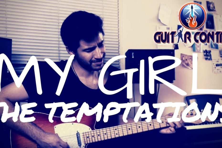 """How to Play """"My Girl"""" By The Temptations - Rhythm Guitar Lesson"""