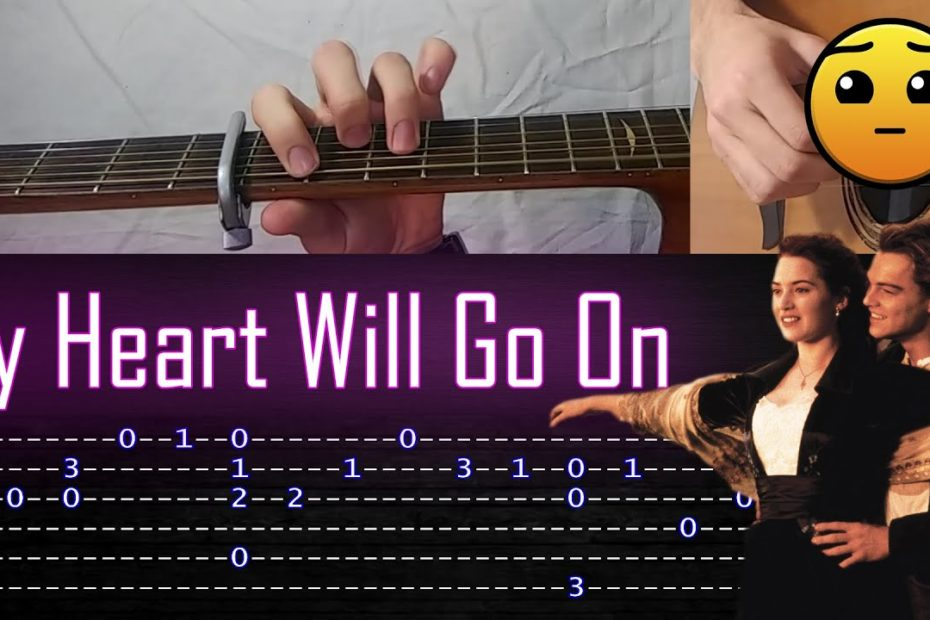 How to play 'My Heart Will Go On' Guitar Tutorial [TABS] Fingerstyle