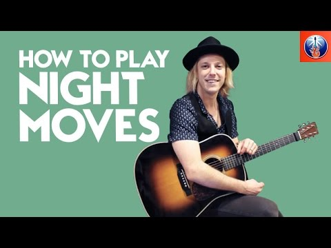 How to Play Night Moves on Acoustic Guitar - Bob Seger Guitar Lesson