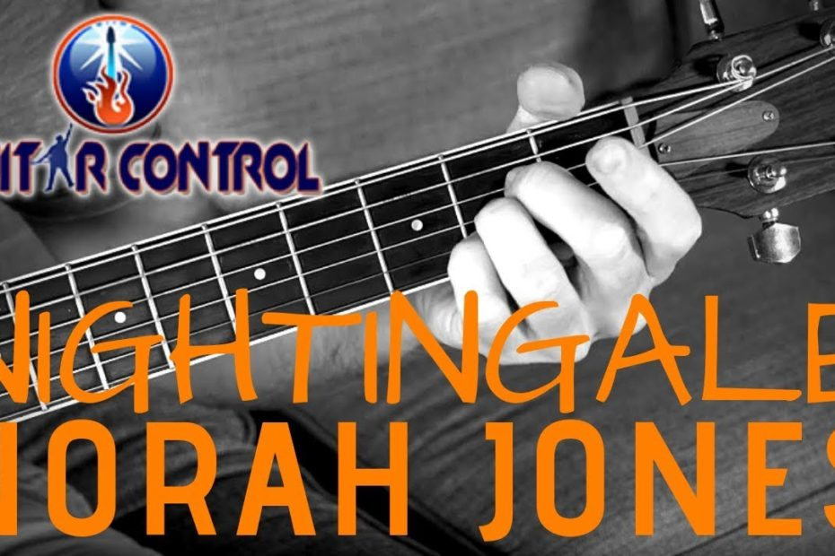"""How To Play """"Nightingale"""" By Norah Jones - Super Simple Acoustic Guitar Song - Easy Guitar Lesson"""