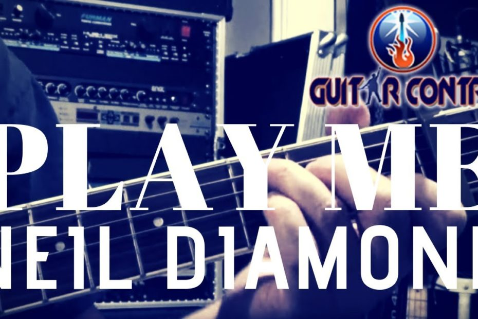 """How to Play """"Play Me"""" by Neil Diamond - Acoustic Fingerpicking Guitar Lesson"""