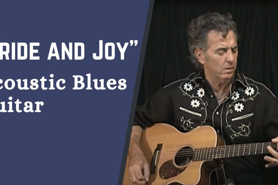 """How to Play """"Pride and Joy"""" on the Acoustic Guitar - Easy Blues Guitar Lesson w/ Jimmy Dillon"""