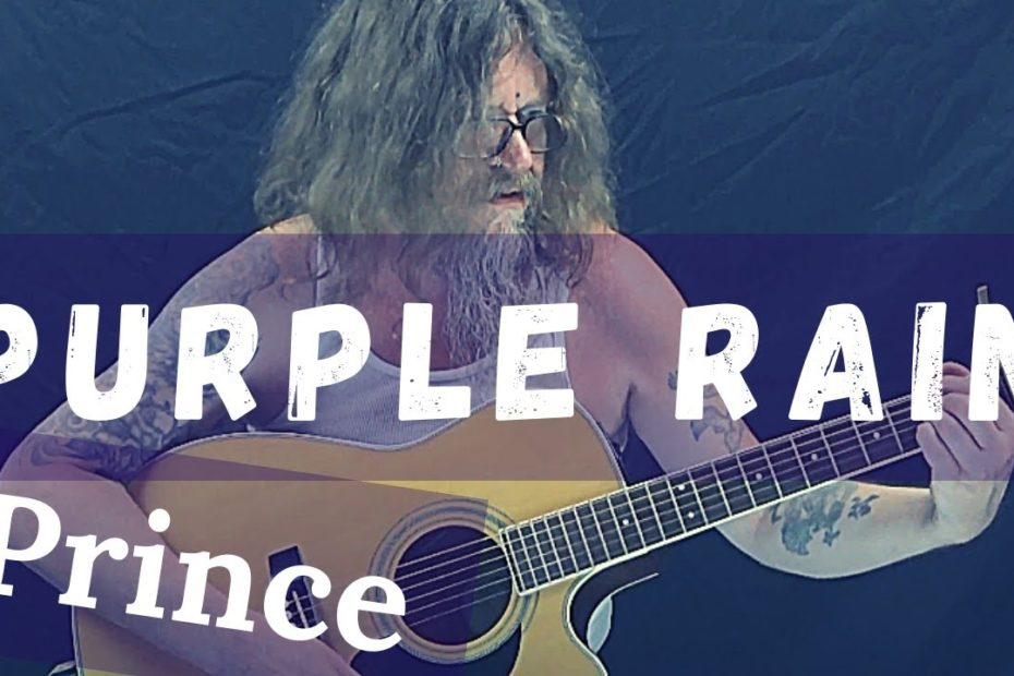 How To Play Purple Rain By Prince (Easy Acoustic Guitar Lesson)
