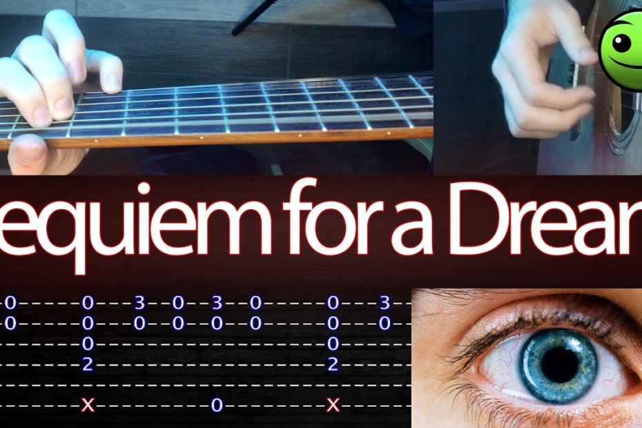 How to play 'Requiem for a Dream' Guitar Tutorial [TABS] Fingerstyle