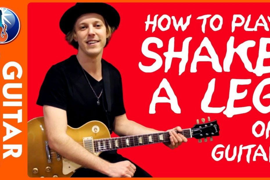 How to Play Shake a Leg on Guitar - AC DC Back in Black Lesson