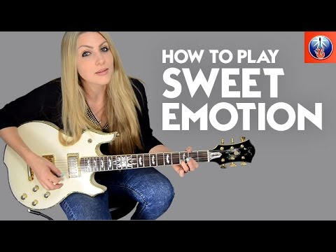 How to Play Sweet Emotion - Awesome Aerosmith Guitar Lesson