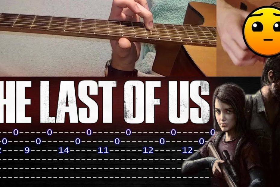 How to play 'The Last Of Us - Main Theme' Guitar Tutorial [TABS] Fingerstyle