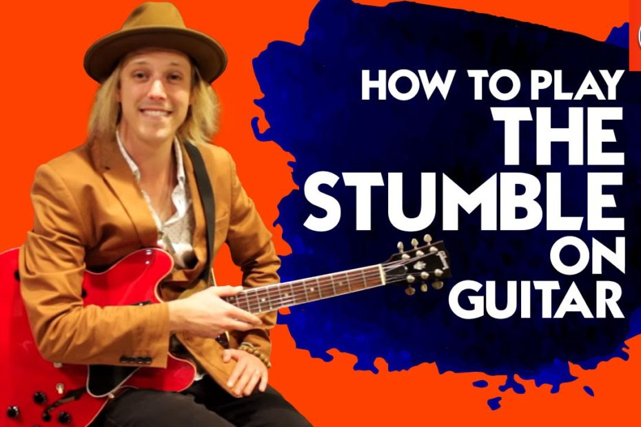 How to Play The Stumble On Guitar - Freddie King Guitar Lesson