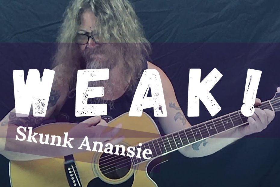 How To Play Weak By Skunk Anansie On Guitar (Easy Acoustic Guitar Lesson)