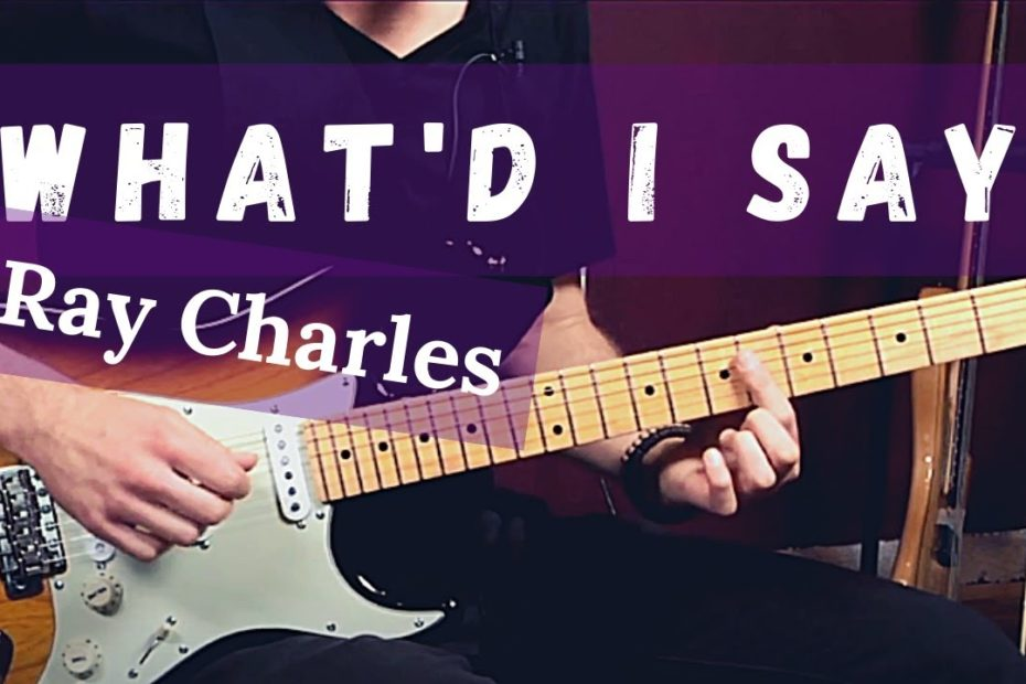 """How to Play """"What'd I Say"""" by Ray Charles on Guitar (Killer Blues Guitar Lesson w/ Jon Maclennan)"""