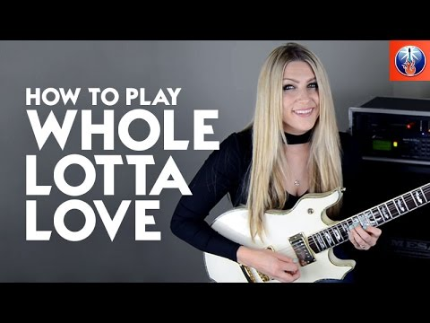 How to Play Whole Lotta Love - Led Zeppelin Whole Lotta Love Solo Lesson