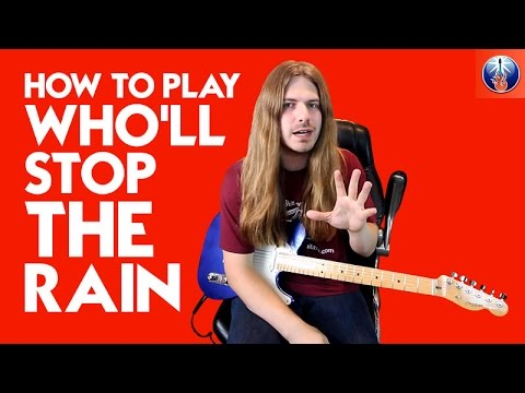 How to Play Who'll Stop the Rain - CCR Who'll Stop The Rain Chords