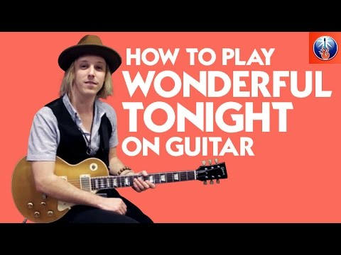 How to Play Wonderful Tonight on Guitar - Eric Clapton Song Lesson